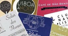 Restaurants de Lisbonne / Restaurantes de Lisboa 2017
