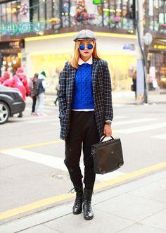 (23) 학생 신발 - 에잇세컨즈    Insta : Fringe_J  패션/FringeJ/프린지j/프린지제이/스트릿패션/스트릿/street fashion