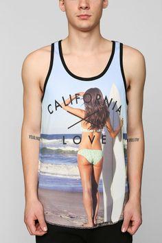 377621333d9b27 California Love Mesh Tank Top - Urban Outfitters on Wanelo Sweater Shirt