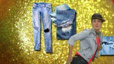 De spijkerbroek komt uit Amerika. Hij is uitgevonden door de slimme kleermaker Levi Strauss. Hij gebruikte een stevige katoenen stof die hij blauw verfde met indigo. Om de zakken extra stevig te maken sloeg hij er spijkers in. Voila, de spijkerbroek!