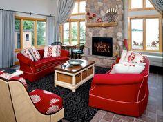 das rote sofa einrichtungstipps rotes sofa | wohnzimmer rot ... - Wohnzimmer Sofa Rot