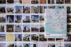 """HamburgArchitectural guide on Hamburg city—The editorial project for the book series called """"On the Road"""" was realised for/in collaboration with Forma Publishing. In addition to the layout of the series it was necessary to design the maps f the city zo…"""