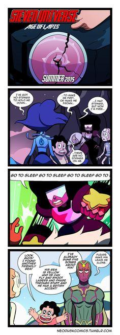 Steven Universe: Age of Lapis by Neodusk