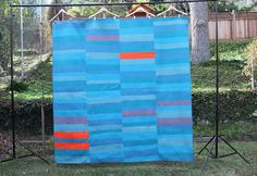 So don't forget that January 24th is Visit Your Local Quilt Shop Day. I hope that you'll hit up yours!                    In a Sea of Blue finished!