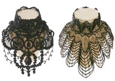 Anne Fontaine Precious collection of glam collars ... so Anna Karenina