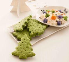 Alberelli di cracker agli spinaci con insalata russa - Tutte le ricette dalla A alla Z - Cucina Naturale - Ricette, Menu, Diete