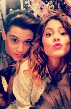 #TiniStoessel y Ruggero #Violetta