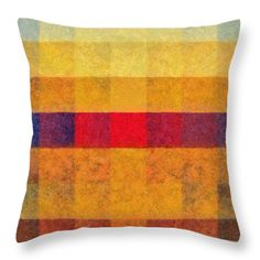 Sunset Red Throw Pillow by Grigorios Moraitis