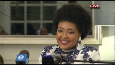 14 September - Winnie Madikizela-Mandela's 80th birthday celebration speech...still beaurtiful, the anti-apartheid Struggle icon turned 80 on the 26 but an early celebration was held at the Mount Nelson Hotel in Cape Town.