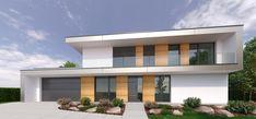 RD ZSBA - Family house, Bratislava, Slovakia Home Fashion, Garage Doors, Bratislava Slovakia, Mansions, House Styles, Outdoor Decor, Design, Home Decor, Mansion Houses