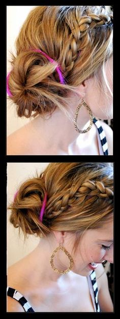 Untidy Bun hair Tutorial | hairstyles tutorial