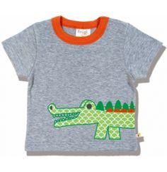 Frugi Κοντομάνικη Μπλούζα Mr Croc
