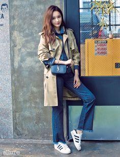 Davichi Kang Min Kyung - Allure Magazine October Issue '14
