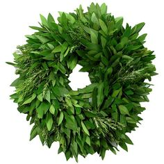 Organic Bay Leaf and Rosemary Wreath $55 #MadeInUSA