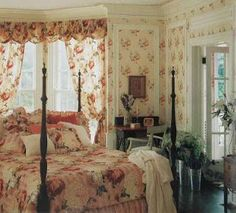 English Country Bedroom now and then: dreamy english country cottagescolefax and