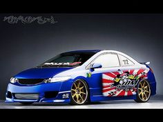 Image detail for -Honda Civic Coupe JDM Style 2010 Virtual Tuning Car Picture ...