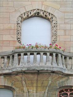 Maison Huot - détail - architecte Emile André - art nouveau de l'Ecole de nancy