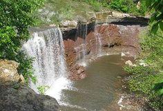 Maps to Kansas Waterfalls I'll make sure my husband takes me here nxt time we visit!