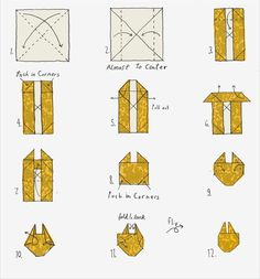 How To: Origami Millennium Falcon- I'm sure Tracy already knows how to do this...but just in case.