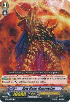 Holy Mage, Manawydan/Gold Paladin