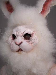 FOCUS: Rabbit. This look incorporated both a prosthetic face and lots of fur, which are both things we are looking at incorporating into our rabbit character.