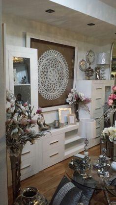 decoración modular blanco