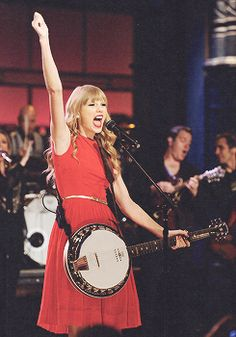 SEE?! She plays banjo too! I TOLD you!
