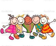 Illustration about Group of happy kids hugging. Illustration of stylized, doodle, action - 23638727 Vintage Clipart, Kids Hugging, Stick Figure Drawing, Child Smile, Smile Kids, Stick Figures, Happy Kids, Funny Faces, Funny Kids