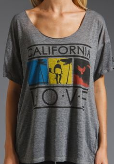 REBEL YELL CA Love in Heather Grey at Revolve Clothing - Free Shipping!