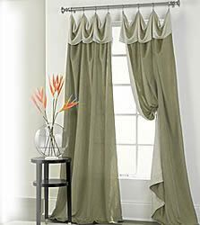 Dining room curtains...