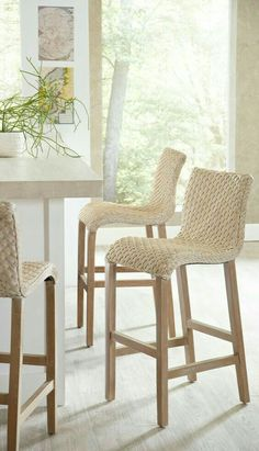 Inspirational Wicker Kitchen Counter Stools