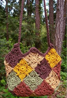 Patchwork Bag – PA-214, de Nancy Brown. http://www.ravelry.com/patterns/library/patchwork-bag---pa-214