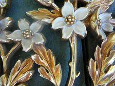 Syroco Vintage Wall Hanging Set of Two Flowers by Happiness2DAY, $24.99