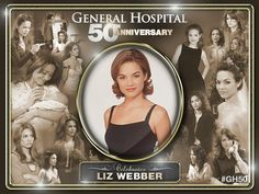 Favorite actress on GH- Rebecca Herbst Chad And Abby, Luke And Laura, Anniversary Banner, Happy Anniversary, Abc Shows, Soap Opera Stars, Guinness Book, Tv Soap, Best Soap