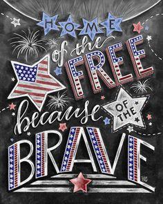 Patriotic Decor, Fourth of July, Chalkboard Art, Chalk Art, Independence Day… Fourth Of July Chalkboard, Summer Chalkboard Art, Chalkboard Print, Chalkboard Lettering, Chalkboard Designs, Chalkboard Ideas, Chalkboard Doodles, Kitchen Chalkboard, Chalkboard Drawings