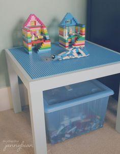 our house: boy's room – lego table - jannybean.ca