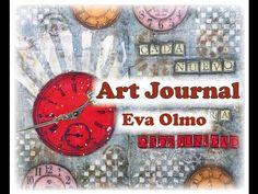 Art journal, en colaboración con La tienda de las manualidades - YouTube