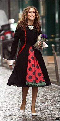 siempre me han gustado los vestidos de Carri Bradshow, asi que seguramente pineare varios xD