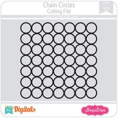 Chain Circles #pinkpaislee #scrapbooking #DIY
