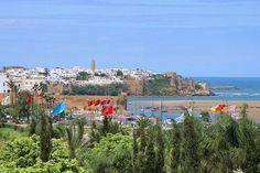 Rabat - Charme durch die Kombination von historischen Stätten und modernen Stadtbauten
