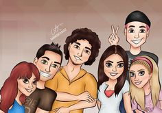 RBD dibujo by @mandschavez en Instagram