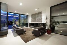 70 moderne, innovative Luxus Interieur Ideen fürs Wohnzimmer - farbkombination idee schwarz weiss wohnideen modern