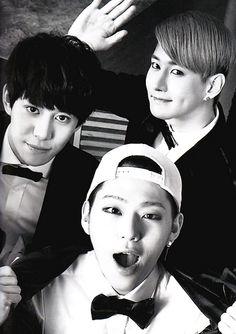 Kyung, Zico, and B-Bomb - Block B