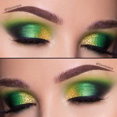 Denitslava (@denitslava) on Instagram beautiful green and gold