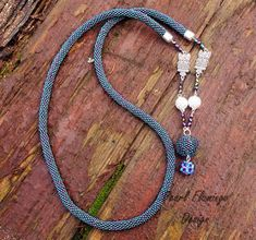 Beaded Necklace, Personalized Items, Jewelry, Beaded Collar, Jewlery, Pearl Necklace, Jewerly, Schmuck, Beaded Necklaces