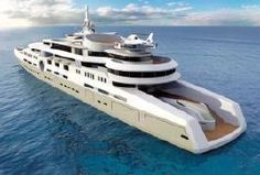 Abramovich Plans World's Largest Yacht