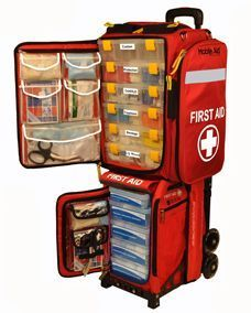 MobileAid Emergency Response Station – CERT Mass Casualty Trauma First Aid