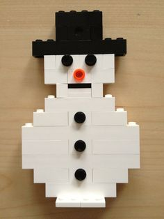 Snowy from lego! Seasons Activities, Lego Activities, Winter Activities For Kids, Christmas Activities, Crafts For Kids, Lego Duplo, Lego Christmas, Winter Christmas, Christmas Crafts