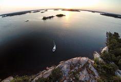 Arrived in Stockholm archipelago: Fjärdskär