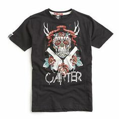"""Carter """"Cranium"""" tee £7.00"""
